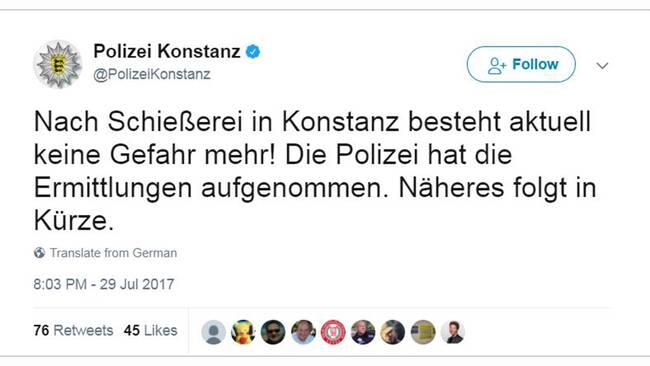 En dod efter skottlossning pa tysk nattklubb