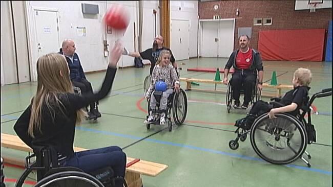 Vid cerebral pares, som förkortas CP, påverkas rörelseförmågan.
