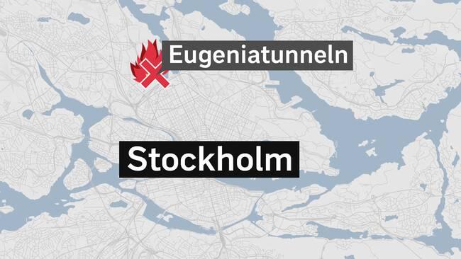 Trafikkaos i eugeniatunneln