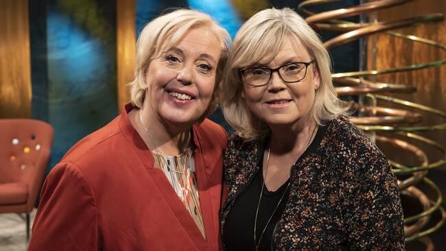 Suzanne Axell och Gunilla Hasselgren från Fråga doktorn.