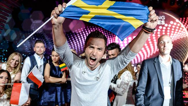 Måns Zelmerlöw till final i Eurovision Song Contest