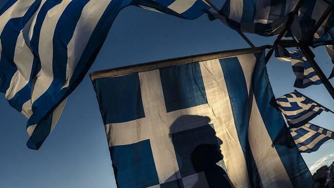 Ekonomin i fokus i grekisk protest