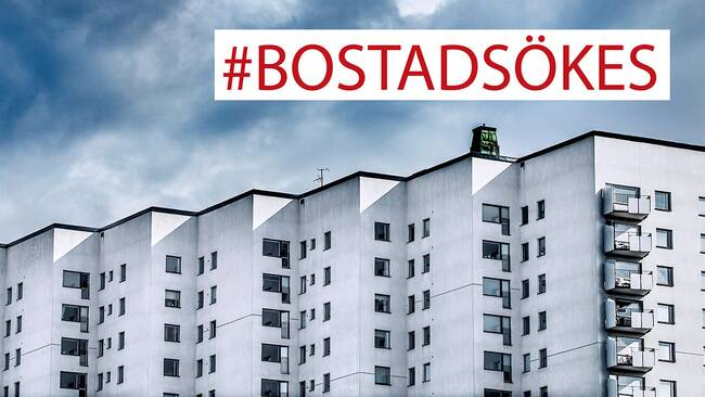 #BOSTADSÖKES