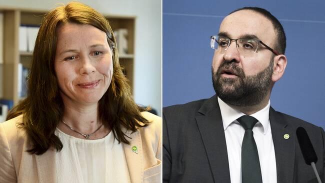Åsa Romson och Mehmet Kaplan.
