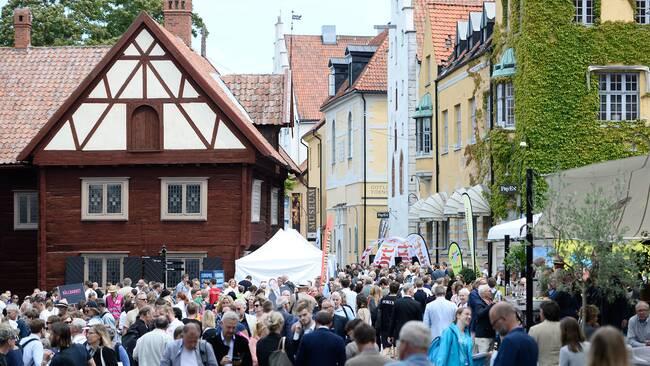 Vimmel i Visby.