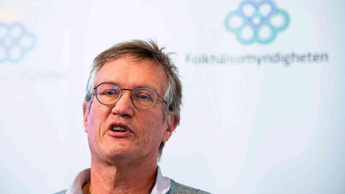 Statsepidemiolog Anders Tegnell