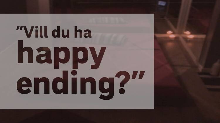 Thaimassage Malmö Happy Ending
