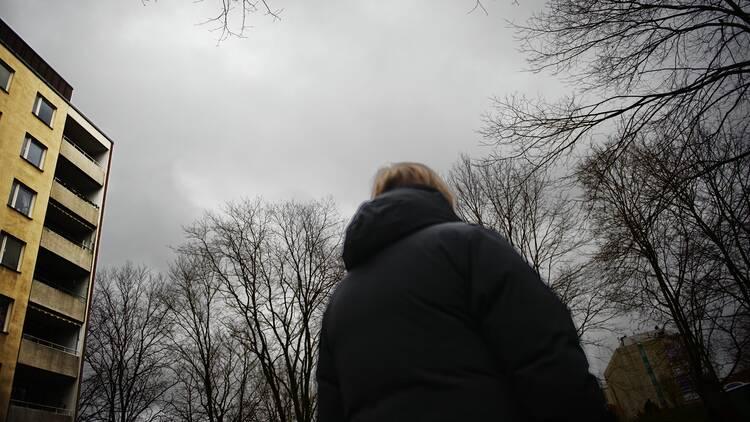 Anonymiserad kvinna.