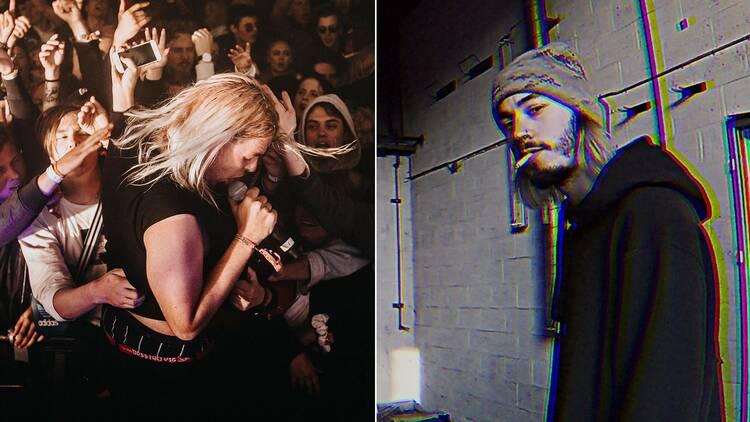 Snövit Rappare Konsert