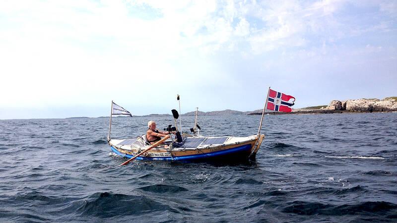 Ensam över Nordsjön