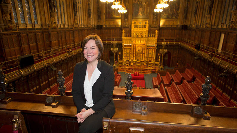 Amanda Vickery, House of Lords.