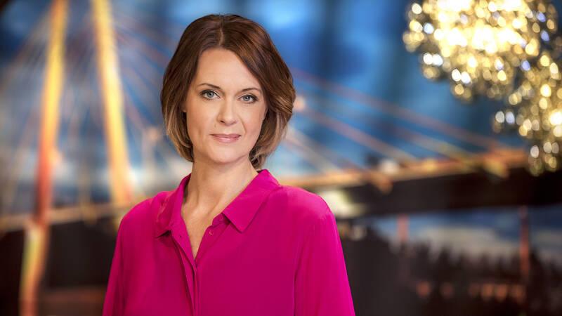 Inger Ljung Olsson, programledare i Go'kväll.