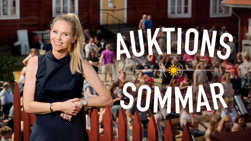 Sofia Rågenklint, programledare för Auktionssommar.