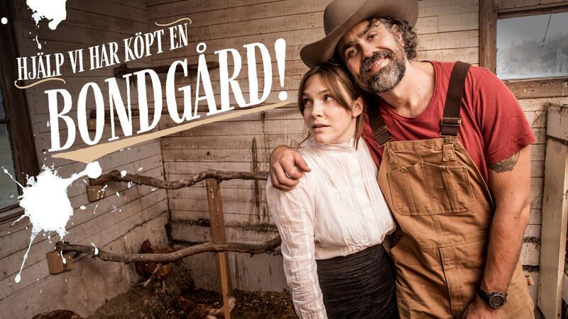 Brita Zackari och Kalle Zackari Wahlström i Hjälp, vi har köpt en bondgård.