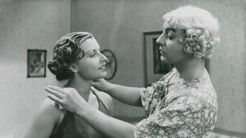 Margit (Greta Ericson) och Nisse (Nils Ericson).