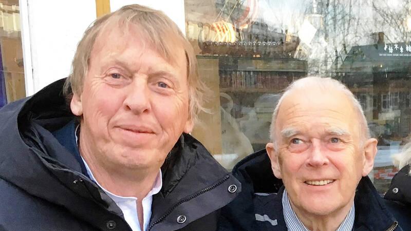Tomas von Brömssen och Arthur Arntzen