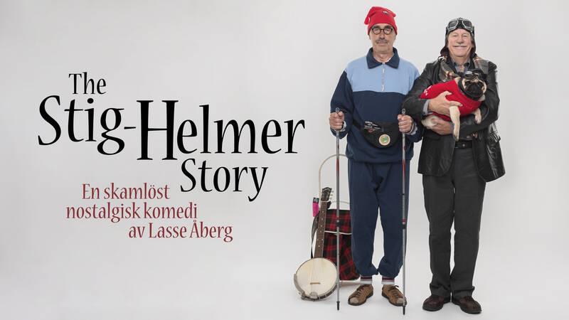 Stig-Helmer (Lasse Åberg) och Ole (Jon Skolmen).