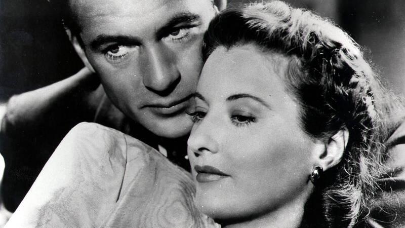 Gary Cooper och Barbara Stanwyck spelar huvudrollerna i Frank Capas film Vi behöver varandra.