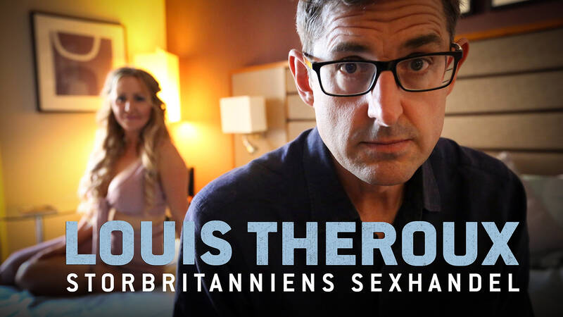 Louis Theroux med Victoria.