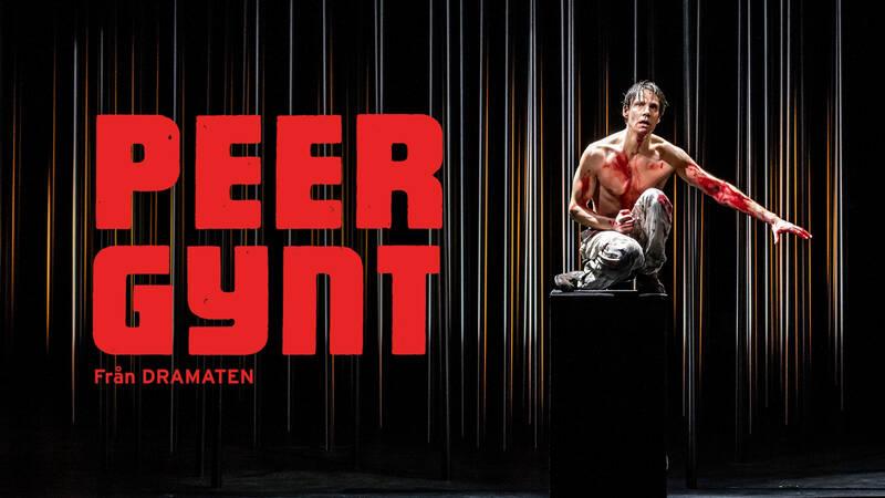 Erik Ehn i uppsättningen Peer Gynt från Dramaten.