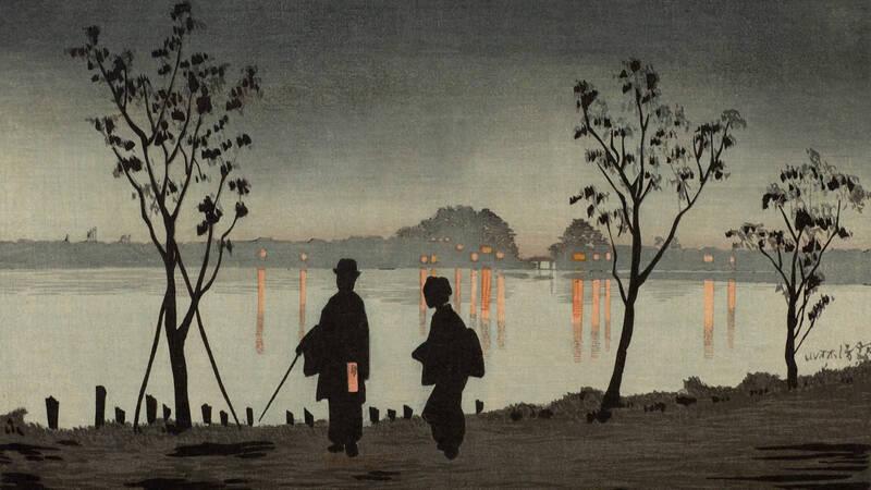 När Japan öppnade sig mot omvärlden på 1800-talet strömmade österländsk konst in i Europa. Så uppstod den så kallade japonismen - konstnärer i väst blev helt tagna av vad de såg
