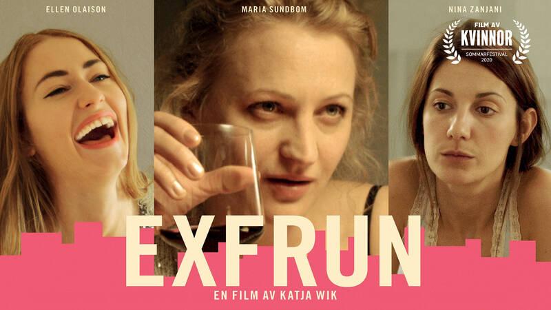 Flickvännen (Ellen Olaison), Exfrun (Maria Sundbom) och Frun (Nina Zanjani)
