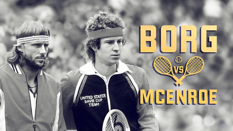 Björn Borg och John McEnroe.