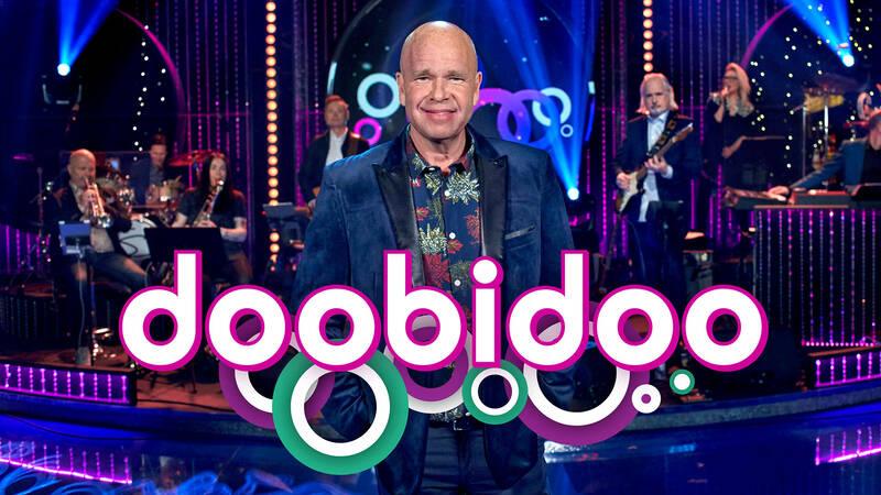 Lasse Kronér, programledare för Doobidoo