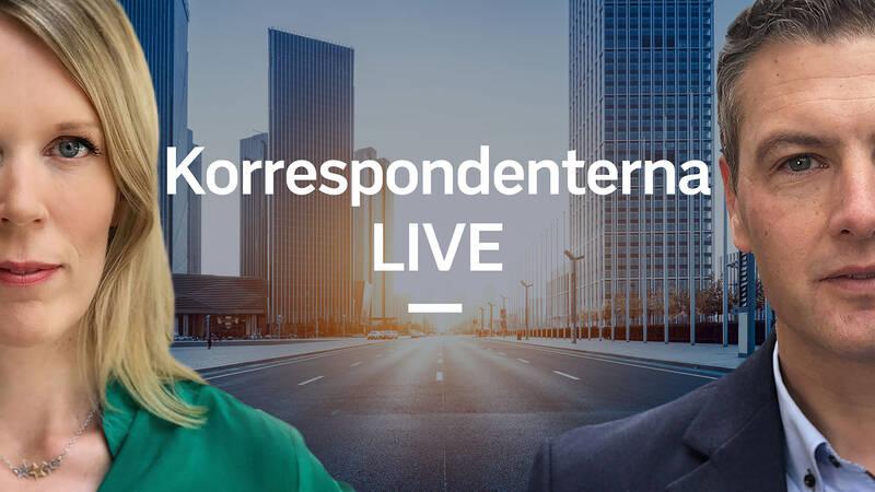 Korrespondenterna live