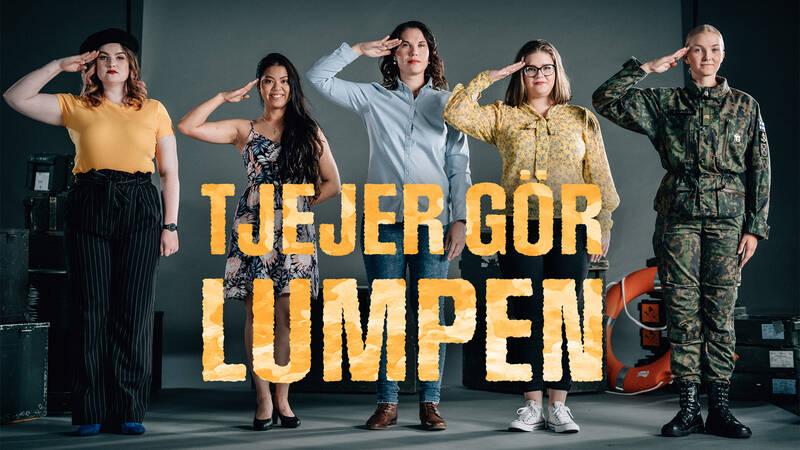 Anni Niemelä, Milla Knutsson, Anne Isokorpi, Henna Kaski och Henni Sinilaakso.