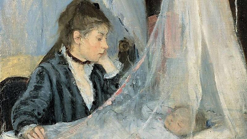 Berthe Morisot, Vaggan