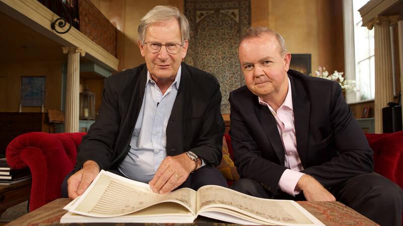 John Eliot Gardiner och Ian Hislop.