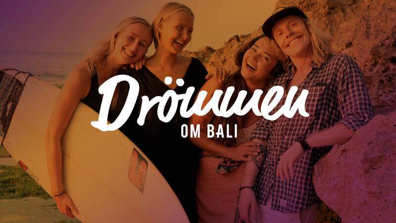 Gänget i Drömmen om Bali.