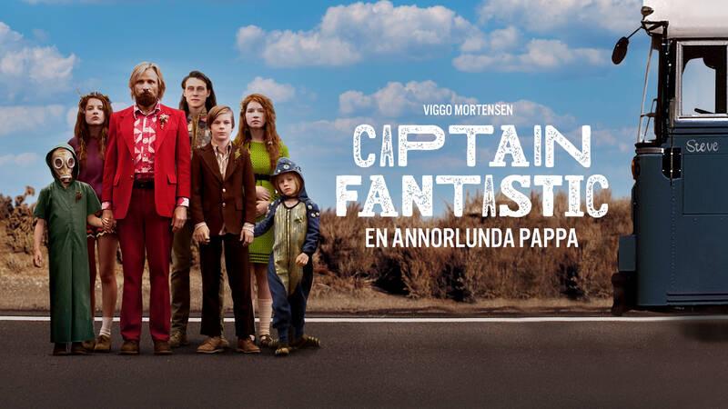 Ben (Viggo Mortensen) med sina barn Zaja (Shree Crooks), Kielyr (Samantha Isler), Rellian (Nicholas Hamilton), Vespyr (Annalise Basso), Bodevan (George MacKay) och Nai (Charlie Shotwell).