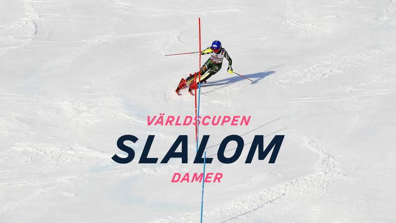 Slalom, damer