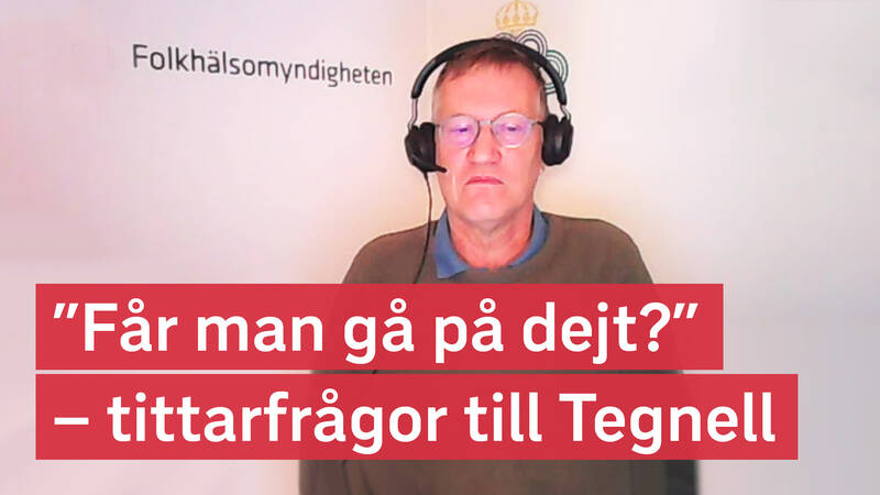 Anders Tegnell.