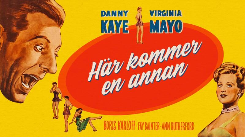 Walter Mitty (Danny Kaye) och Rosalind van Hoorn (Virginia Mayo).