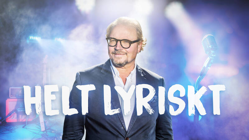 Fredrik Lindström i Helt lyriskt.