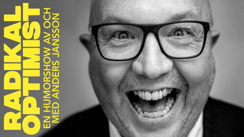En hyllad soloföreställning med komikern Anders Jansson.
