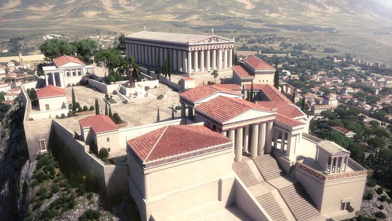 Aten är en av världens äldsta städer.