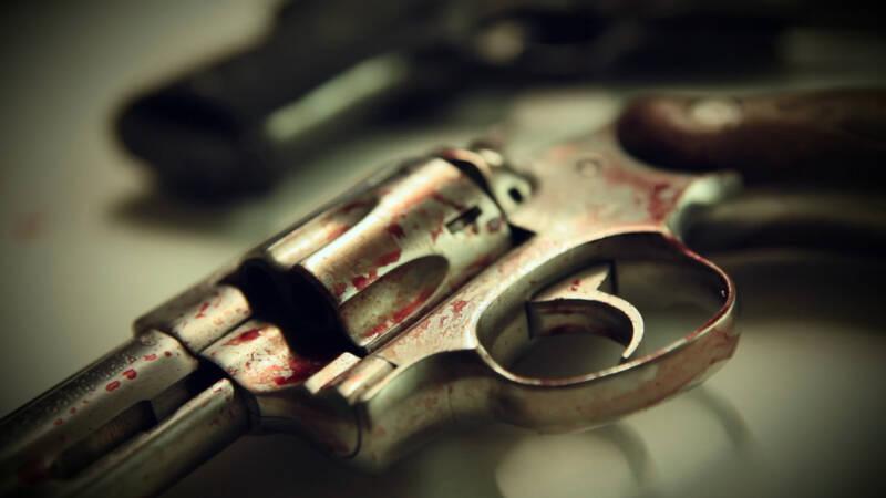 En revolver är under utredning. Förövaren är alltid före utredarna, men tack vare modern kriminalteknik kan sökningen efter ledtrådar snabbt komma ikapp.