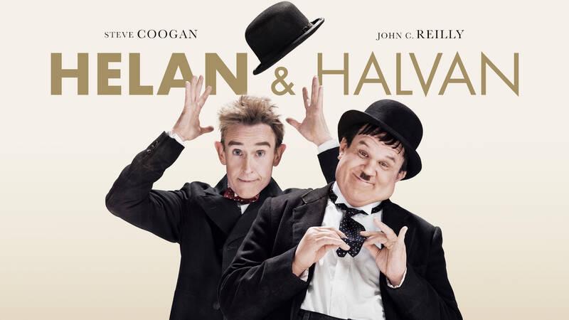 Stan Laurel (Steve Coogan) och Oliver Hardy (John C. Reilly).