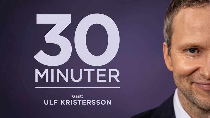 30 minuter med Anders Holmberg - gäst  Ulf Kristersson