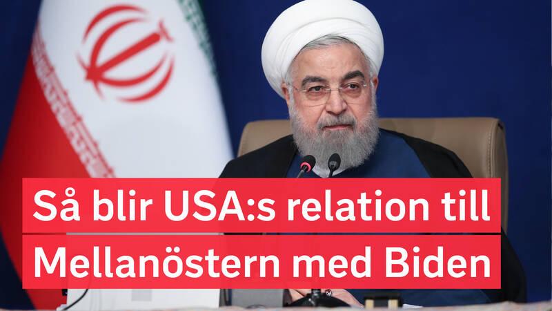 Irans president.