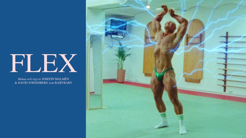 Calle Bolund i kortfilmen FLEX.
