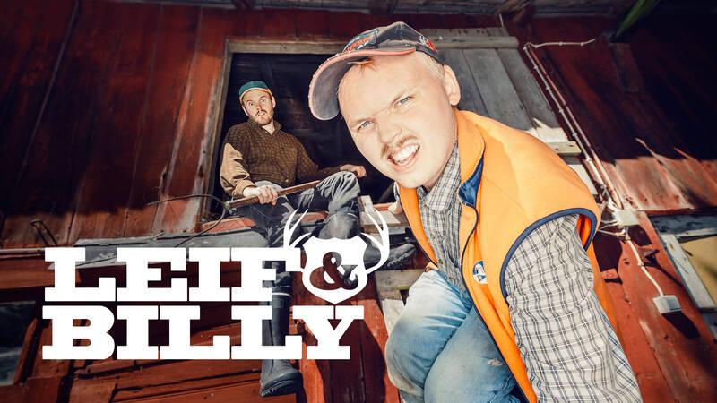 Leif och Billy.