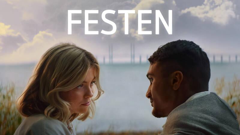 Zafirah och Aasim (Sophia Martinsson, Edy Dzafic). - Festen