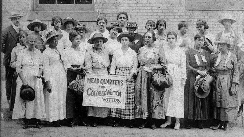 Huvudkontor för färgade kvinnliga väljare. Chicago, IL, 1916.