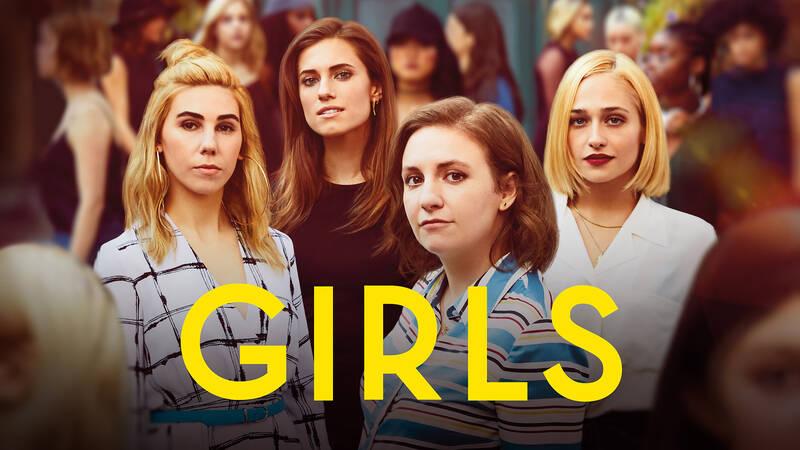 Shoshanna Shapiro (Zosia Mamet), Hannah Horvath (Lena Dunham), Jessa Johansson (Jemima Kirke) och Marnie Michaels (Allison Williams).