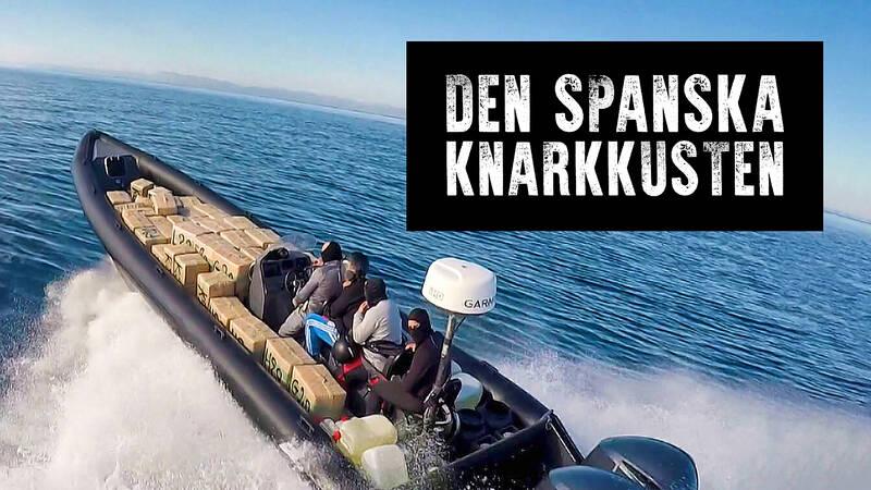 Smugglare använder supersnabba motorbåtar för att undvika polisen.